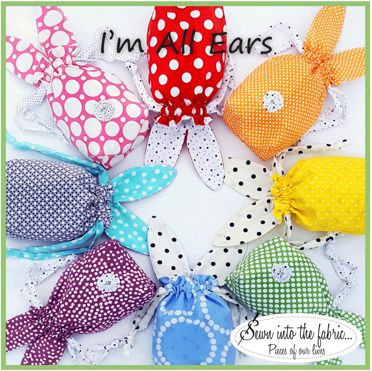 Quick gifts checker news blog rana heredia of sewn into the fabric has created the perfect project just in time for your easter baskets or hide them in the yard for that easter egg hunt negle Gallery